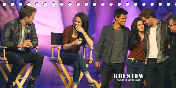 Kristen au TWIcon - 5 novembre - Los Angeles : ➲ Let's follow Kristen Stewart on Kri-Stew ©