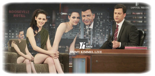 Kristen - Jimmy Kimmel live - 10 novembre :  ➲ Let's follow Kristen Stewart on Kri-Stew ©