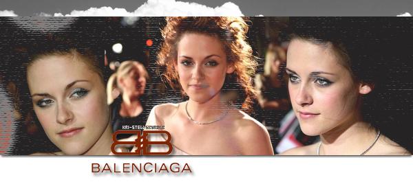 kristen, nouveau visage de Balenciaga : ➲ Let's follow Kristen Stewart on Kri-Stew ©