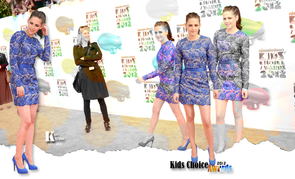 kristen - 31 mars - Kids Choice Awards : ➲ Let's follow Kristen Stewart on Kri-Stew ©