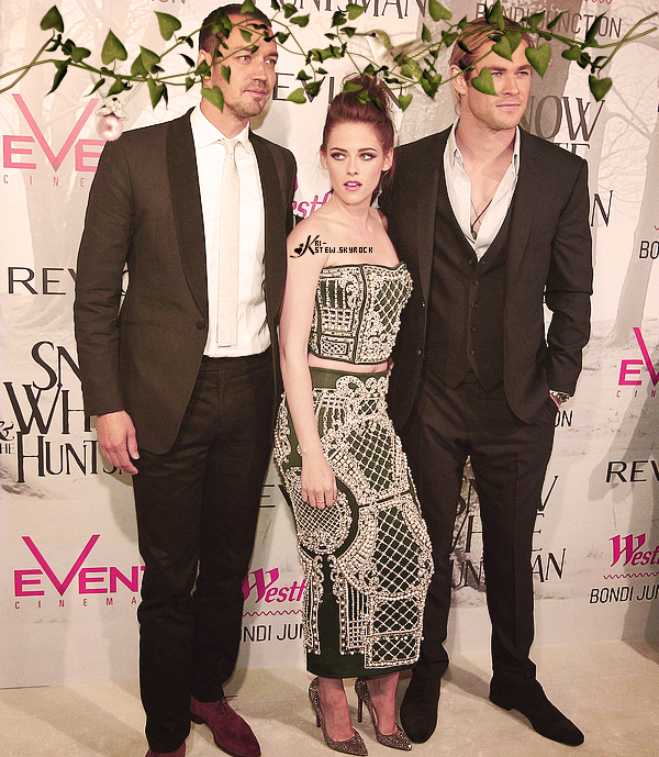 Kristen - SWATH première - Sydney - 19 juin : ➲ Let's follow Kristen Stewart on Kri-Stew ©