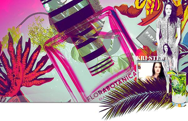 Kristen - Florabotanica de Balenciaga :  ➲ Let's follow Kristen Stewart on Kri-Stew ©