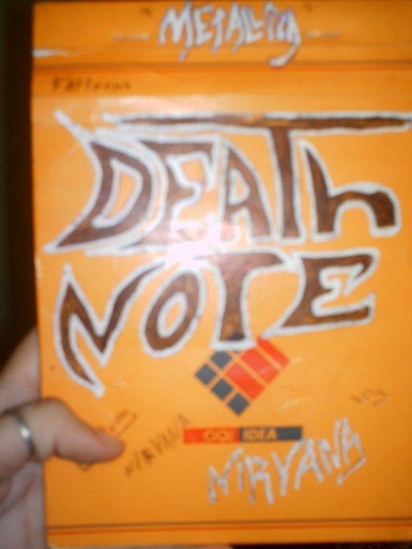 mon death note ah dsl bloc note hhhhh
