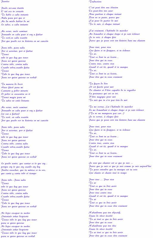 Chanson de Violetta! ;)