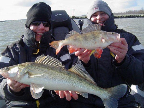 pêche sur le hollans diep, NC pop , greg et beef