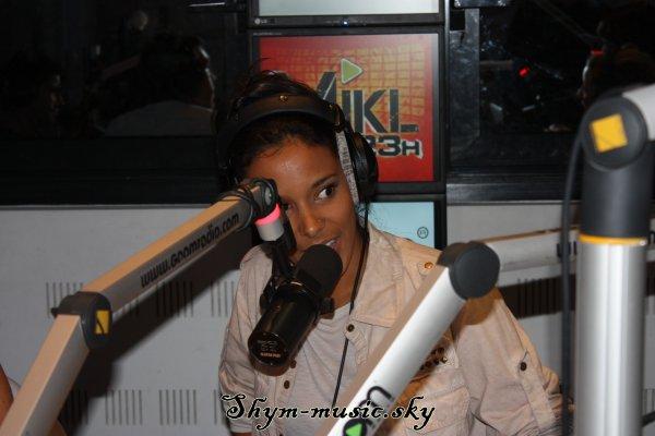 Shy'm sur Goom Radio toujours magnifique ♥♥
