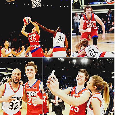 NBA All Star Celebrity Game in New York City | February 2015 (Date : February, 13th, 2015) ____________________________________________ (♥) l'article pour être prévenu du prochain.