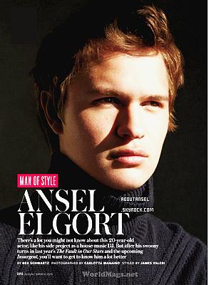 InStyle Magazine | February 2015 (March issue) ____________________________________________ (♥) l'article pour être prévenu du prochain.