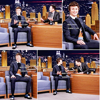 The Tonight Show Starring Jimmy Fallon | March 2015 ____________________________________________ (♥) l'article pour être prévenu du prochain.