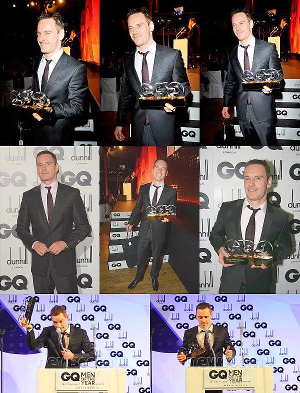 """Michael a été élu """" L'homme de l'année"""" selon GQ."""