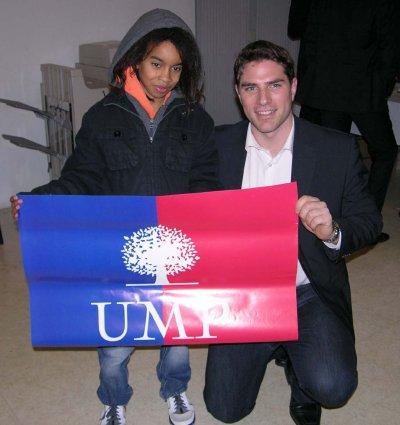 Vincent JEANBRUN  & William Mengne Represante Affiche UMP