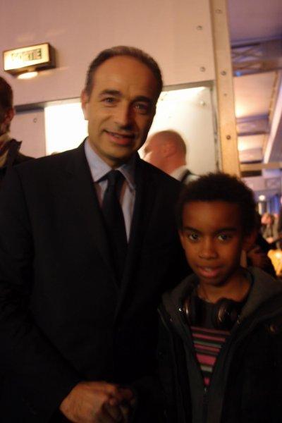 Jean-François Copé Secrétaire Général UMP Rencontre William Mengne Ombagho