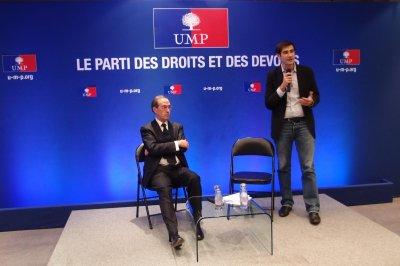 Réunion-débat avec Claude Guéant Ministre de l'Intérieur, de l'Outre-Mer, des Collectivités territoriales et de l'Immigration.
