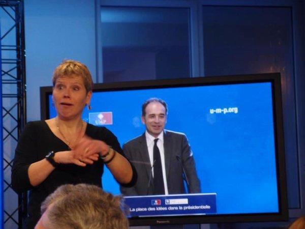 """Réunion thémique """" la place des Idées dans la présidentielle"""" Avec Interpret Langue signes"""