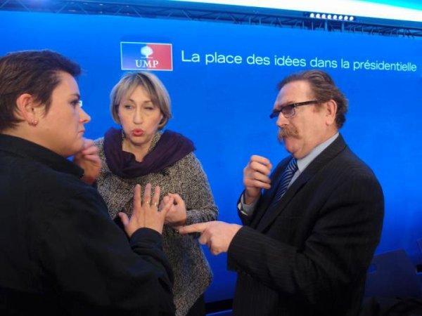 """Réunion thémique """" la place des Idées dans la présidentielle"""" Patrick Leven ( Sourds ) Avec Marie-Anne Montchamp"""