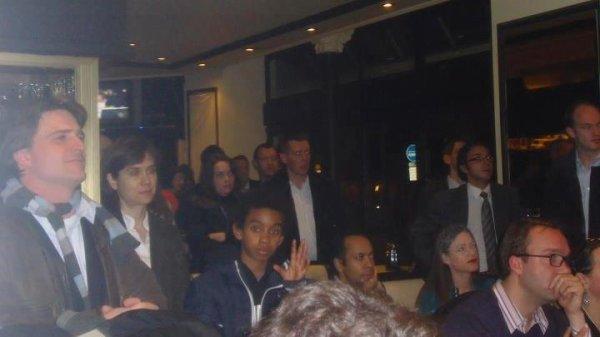 Réunion de soutien à Nicolas Sarkozy avec Franck Riester