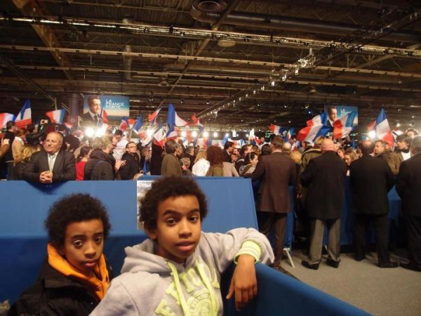 MEETING VILLEPINTE NICOLAS SARKOZY ELECTION 2012