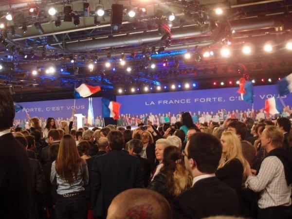 MEETING VILLEPINTE NICOLAS SARKOZY ELECTION 2012