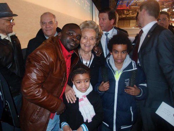 Bernadette Chirac rencontre William Ombagho & Kenny Ombagho