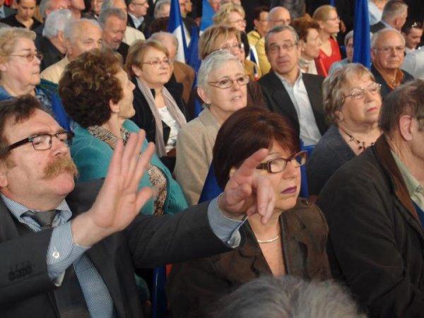 Réunion publique a Meaux avec Nicolas Sarkozy