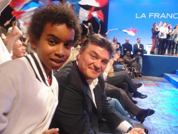 Printemps des Jeunes UMP Grand rassemblement avec Nicolas sarkozy