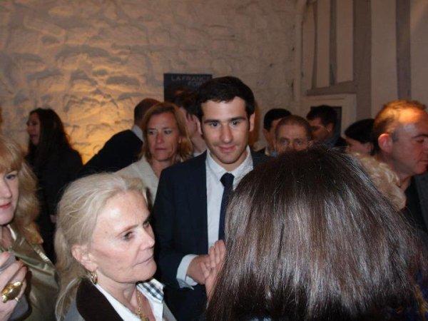 dîner-débat avec Bruno Le Maire Ministre de l'Agriculture, de l'Alimentation, de la Pêche, de la Ruralité et de l'Aménagement du territoire, Délégué général de l'UMP en charge du projet