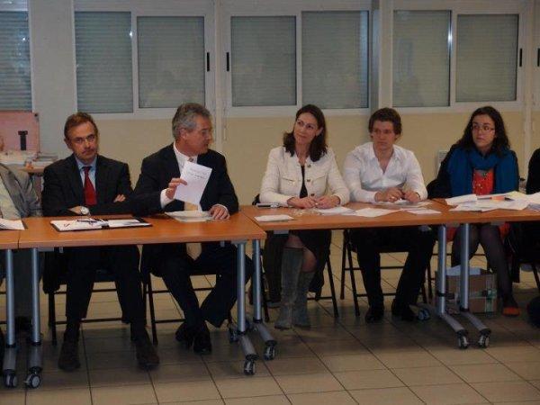 Réunion  de Campagne a Nicolas Sarkozy avec Henri PLAGNOL Maire-Député Val de Marne