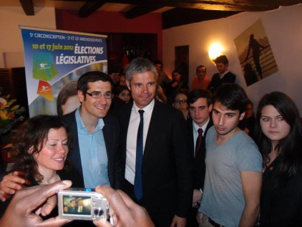 Diner-Débat autour Laurent Wauquiez Ministre Enseignement Superieur et Recherche avec Benjamin Lancar