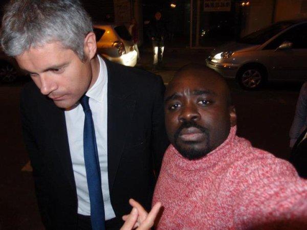 Georges Ombagho rencontre  Laurent WAUQUIEZ, Ministre de l'Enseignement Supérieur et de la Recherche