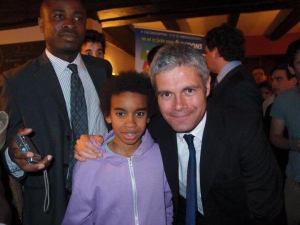 William Ombagho rencontre  Laurent WAUQUIEZ, Ministre de l'Enseignement Supérieur et de la Recherche