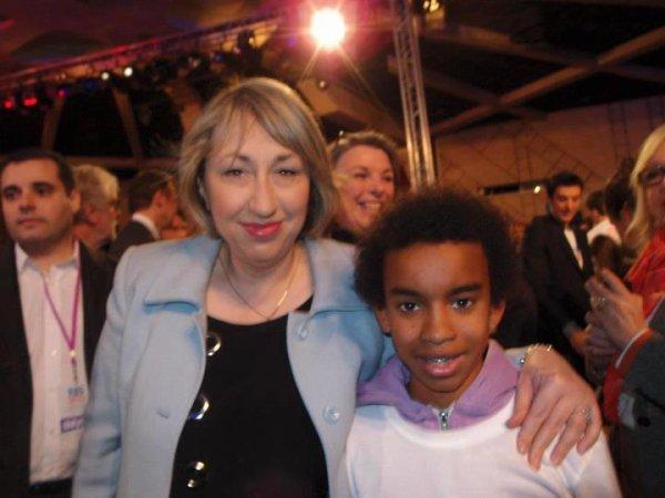 Marie-Anne Montchamp  Secretaire Etat Rencontre William Ombagho