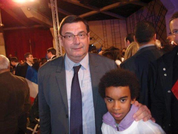 Jean-François Lamour Député de Paris a Assemblée nationale Rencontre William Ombagho
