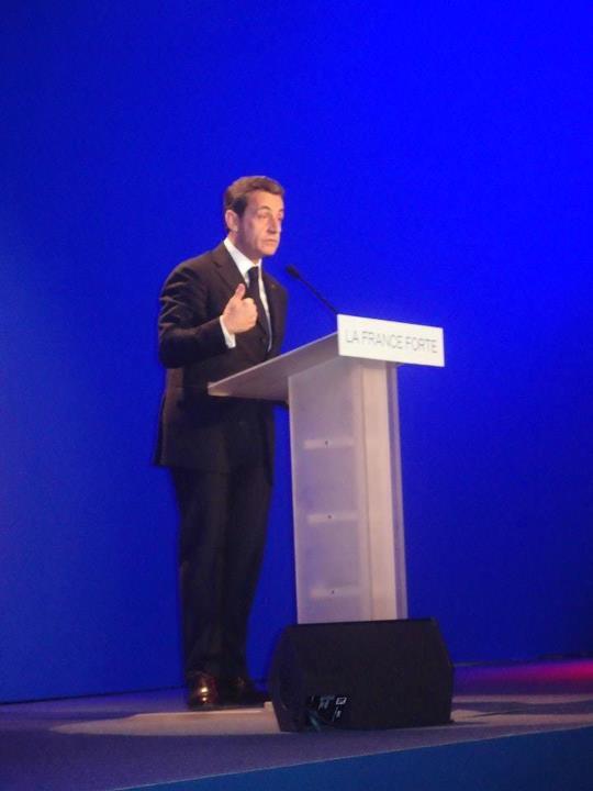 Réunion Saint-Maurice Val de Marne avec Nicolas Sarkozy