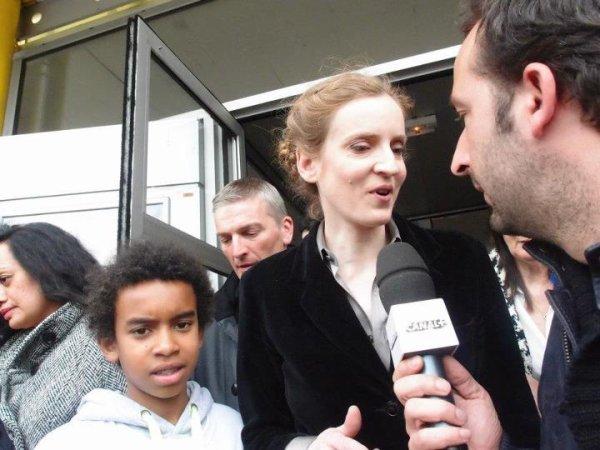 Réunion Longjumeau avec Nicolas Sarkozy Interview  Canal +