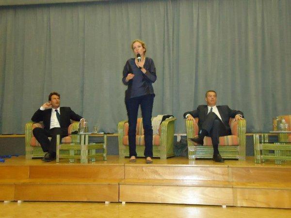 Nathalie Kosciusko-Morizet candidat présidence de l' UMP chez  Mairie Saint-Maur des Fosses