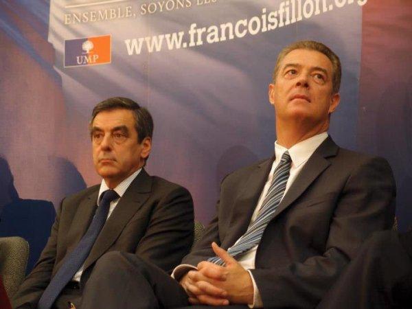 François Fillon présidence de l' UMP à  la Mairie Saint-Maur