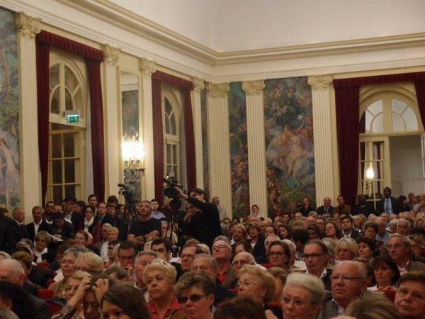 Meeting de François Fillon présidence UMP dans le Val-de-Marne à Hotel de ville de Saint-Mandé