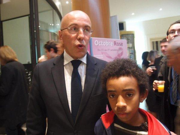 William Ombagho et kenny Ombagho rencontre Eric Ciotti Député et Conseil général des Alpes-Maritimes