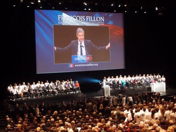 """William Ombagho & Kenny Ombagho  à Palais des Congres de Paris  """" François FILLON Ensemble Soyons Les MILLITANTS DE LA FRANCE """""""