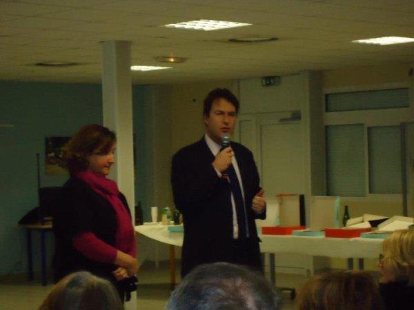 Voeux 2013 Syvlain Berrios député Val de Marne