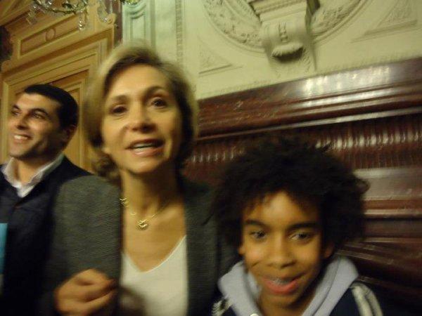 """Valérie Pécresse  ancien Ministre , député Yvelines  Rencontre William Ombagho """" La mairie du 11 ème Paris : les voeux des élus UMP """""""