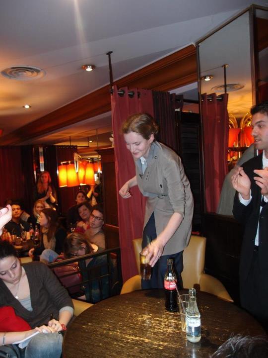 Café politique avec Nathalie Kosciusko-Morizet candidat Maire de Paris 2014