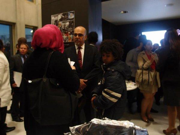 Conférence en présence des 6 ambassades des pays du Golfe à Paris  ( Ambassade de l' Etat du Qatar rencontre William Ombagho & Kenny Ombagho