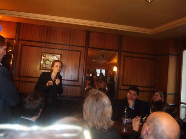 Débat Benardette Chirac soutient Nathalie Kosciusko-Morizet Candidate Maire de Paris 2014
