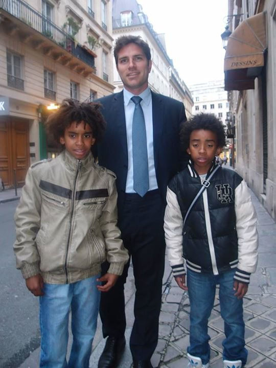 William Ombagho & Kenny Ombagho rencontre Vincent  Jeanbrun   candidat de Maire 2014  à L'Haÿ-les-Roses avec Valérie Pécresse à Federation de Paris UMP