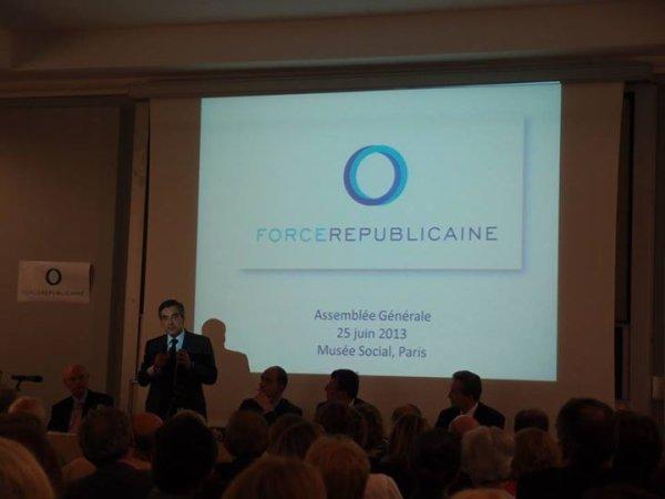 Odre du jour de l' Assemblée Générale   de  FORCE REPUBLICAINE Avec François FILLON ancien Premier Ministre 2007 à 2012