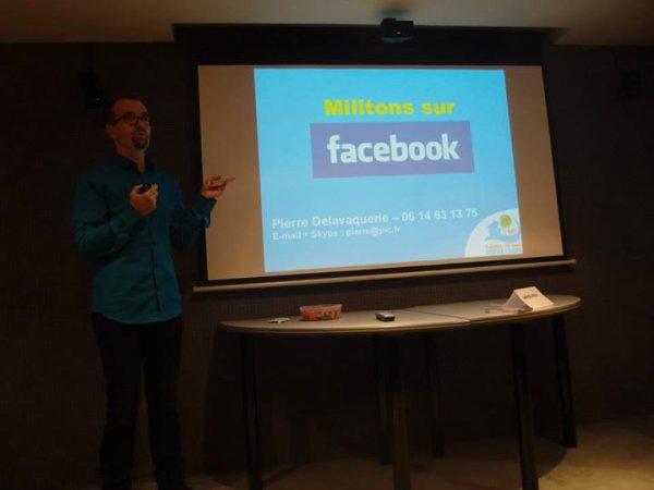 ·      Formation « Militons sur Facebook »