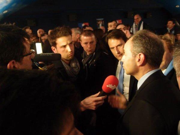 """Interview  Journal de Canal Plus """" Publique  avec Jean-François  COPE Maire-député , Président de l' UMP de soutien à Sylvain Berrios candidat  éléctions Municipales de 2014 """""""
