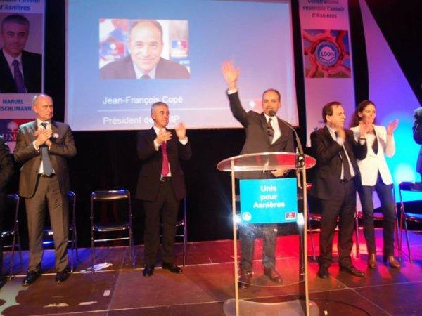 Asnieres Municipales 2014 : Aeschlimann soutenu par les UMP, PCD et de l' UDI