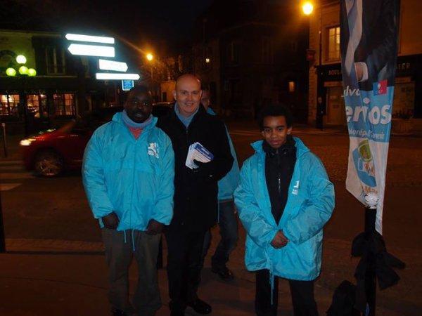 """Tract de Sylvain Berrios  """" 2eme tour élection municipales 2014 """""""